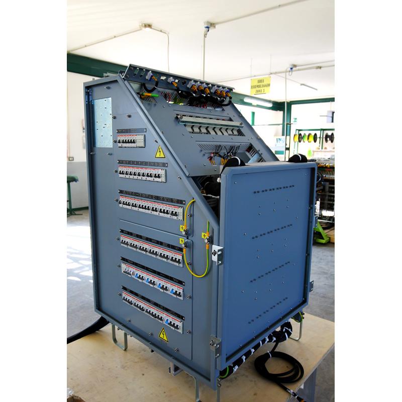 Assieme quadro elettrico QE2 commessa Vivalto