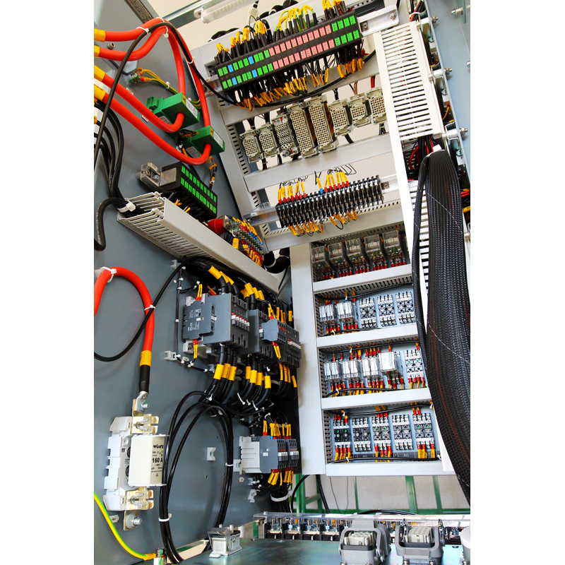 CONTROL BOARD QE2 INTERNAL VIEW